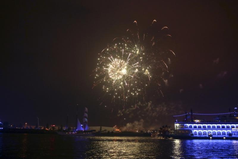 Weitere Impressionen Der Auslaufparade Der Hamburg Cruise Days 2015