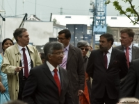 Minister Anand Sharma in Hamburg_P5101066wD