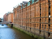 Hamburg,Speicherstadt_Blick auf die alte Polizeiwache_P8030467