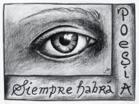Siempre-habrà-Poesìa-(15-4x11cm--Postkartengröße--Kohle-auf-Papier)