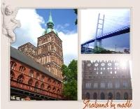 Postkarte Stralsund
